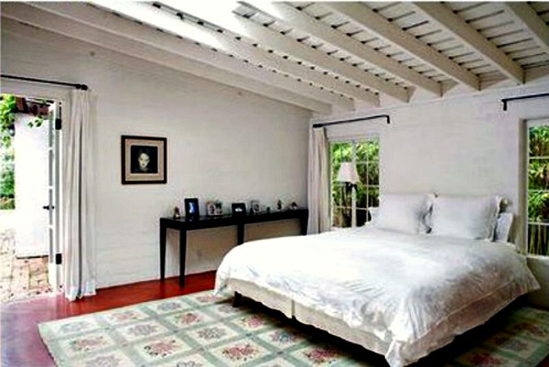 Marilyn Monroe's Brentwood House Bedroom